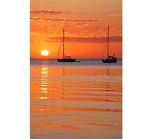 Roatan Sunset Photographic Print