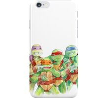 TMNT Watercolor iPhone Case/Skin