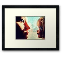 Opposites Attract?  Framed Print