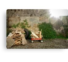 Inadequate Tools: The Wagon Canvas Print