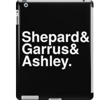 Mass Effect Names - 4 iPad Case/Skin
