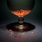 Pomegranate Seeds by Maria del Rio