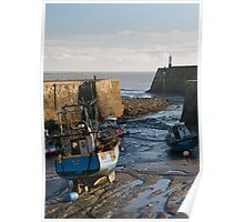 Porthcawl Harbour Poster