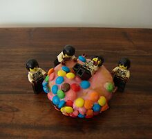 Look Boys Doughnut!! by Jessica Hooper
