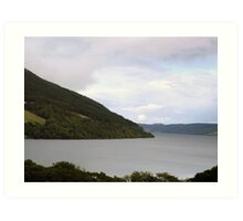Loch Ness, Scotland Art Print