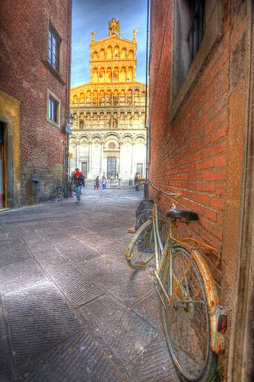 old lucca italy by clint hudson