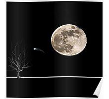 werewolf moon Poster