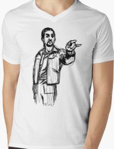 The Jesus Mens V-Neck T-Shirt
