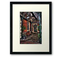 Sankey's Framed Print