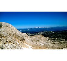 Blue Skies over Dachstein Glaciers Photographic Print