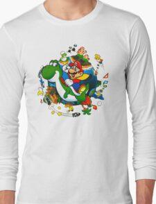 Super Mario World Planet. Long Sleeve T-Shirt