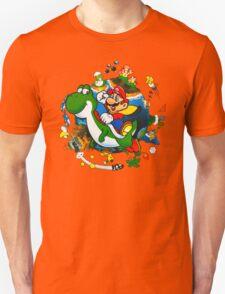 Super Mario World Planet. Unisex T-Shirt