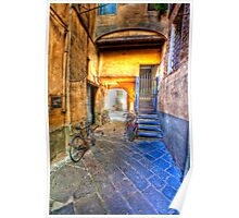 lucca courtyard Poster