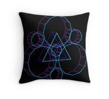 Coheed's Keywork in 3D- Serene Throw Pillow