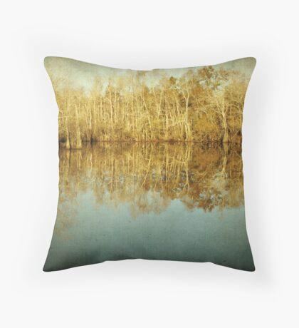 River Cypress Throw Pillow