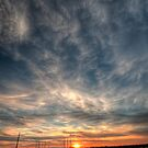 Sunset over Phoenix by Avena Singh