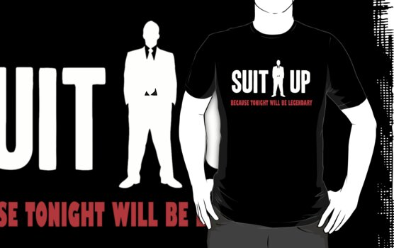 suit up - how i meet your mother - barney stinson by personalized