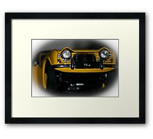 Men and their Toys............. Framed Print