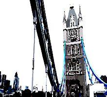 London Tower Bridge by cheeckymonkey