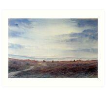 Twilight Settles on the Moors Art Print