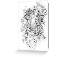 Sorrow Star Greeting Card