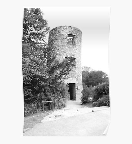 Keepers Tower, Blarney Castle Poster