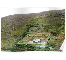 Irish Mountains Poster