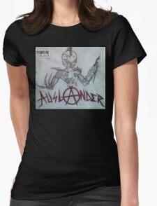 auslander album cover Womens Fitted T-Shirt