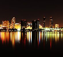 Lights On Water by MSPhoto