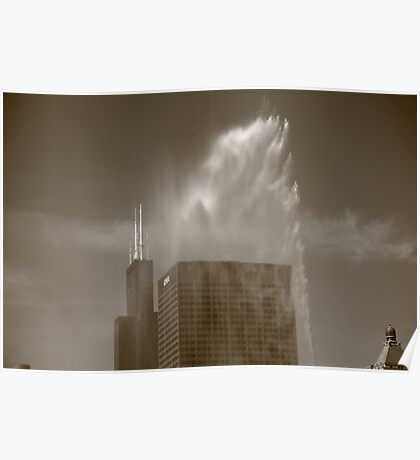 Chicago - Buckingham Fountain Poster