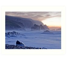 Port sundown glencolmcille Art Print