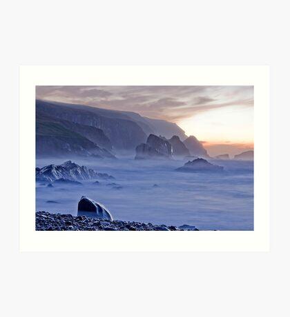 Port sundown glencolmcille Art Print