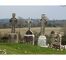 Old Irish Graveyard Photographic Print