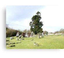 Irish Graveyard Canvas Print