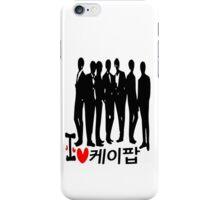 I Heart KPOP in Korean language iPhone Case/Skin