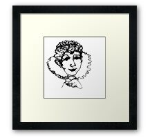 Lynnette's Fun Online Sketchy Thing...Scribbler My 15 second scribble Framed Print