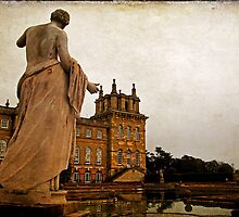 Statue at Blenheim Palace, Oxfordshire, UK by buttonpresser