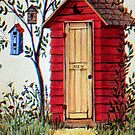 Ye Old Men's Outhouse by wiscbackroadz
