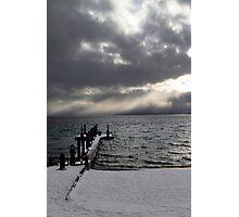 Tahoe Snowstorm Photographic Print