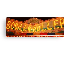 Bowler Roller Canvas Print