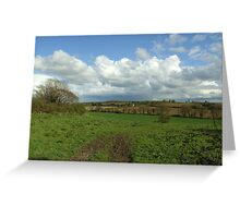 Irish Countryside in Spring Greeting Card