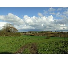 Irish Countryside in Spring Photographic Print