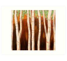 """White Forest"" Art Print"