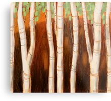 """""""White Forest"""" Metal Print"""