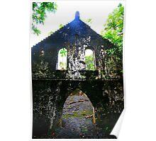 Lava ruin church Poster
