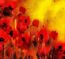 Poppy reverie'... by Valerie Anne Kelly