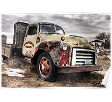 Johnny's 1950 Coors Farm Truck Poster
