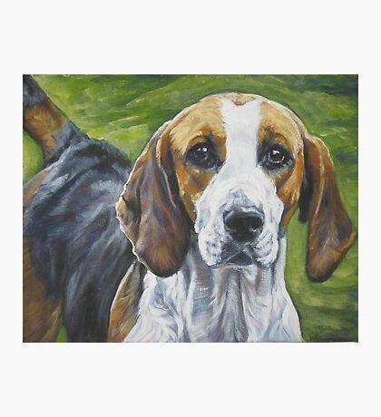 English Foxhound Fine Art Painting Photographic Print