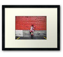 Reign of Red Framed Print