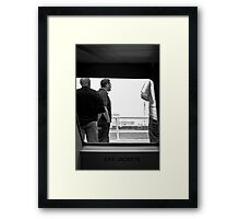 Use only if needed... Framed Print